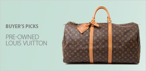 Pre-Owned Louis Vuitton Buyers picks