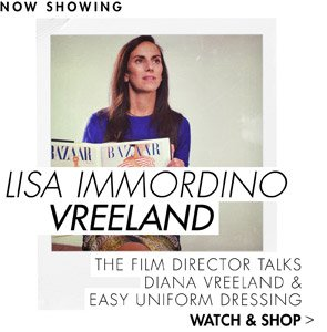 STYLE TIP from Lisa Vreeland