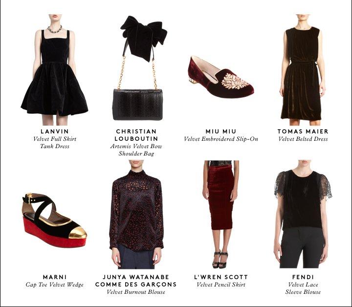 Lush, luxurious velvet: Shop the trend.