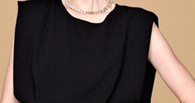 Astria crepe dress