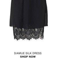Siamue silk dress
