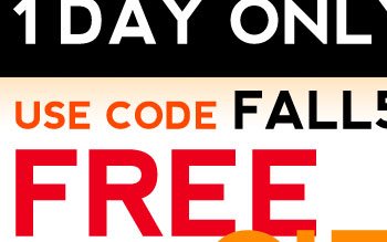 BOGO 50% OFF SITE WIDE 1 DAY ONLY USE CODE: FALL50