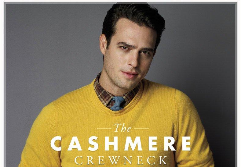 THE CASHMERE CREWNECK - SHOP SWEATERS