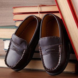 Classically Styled: Boys' Dress Shoes