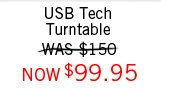 USB Tech Turntable