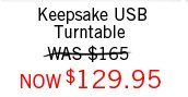 Keepsake USB Turntable