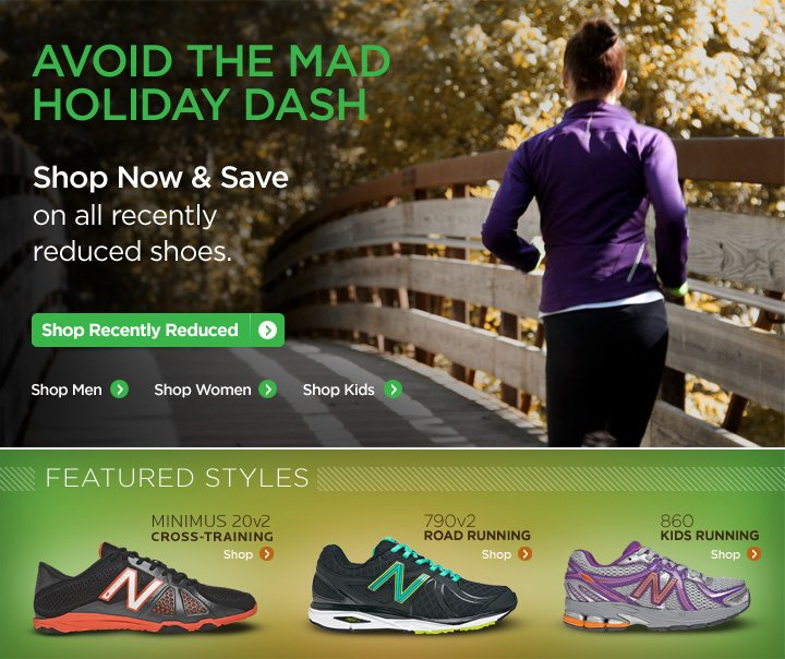 Avoid the Mad Holiday Dash - Shop Now & Save on all recently reduced shoes