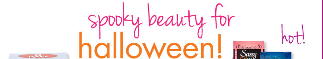 spooky beauty for halloween!