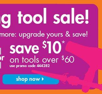 save $10*