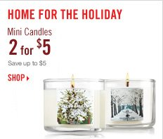 Mini Candles - 2 for $5