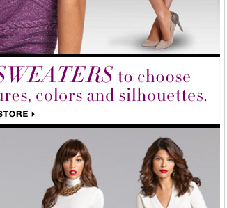So many NEW FALL SWEATERS to choose from! Shop Fall Sweaters NOW.