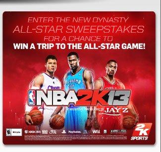NBA2K13 Sweepstakes
