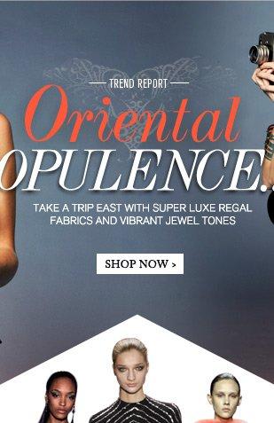 oriental opulence