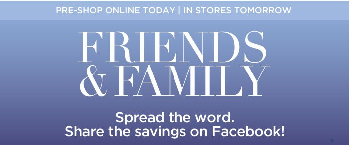 40% Off Sitewide: Friends & Family Sale
