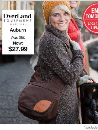 Overland Equipment | Auburn | Was $60  Now $27.99 | Buy Now