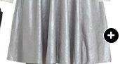 Foil Knit Skater Dress