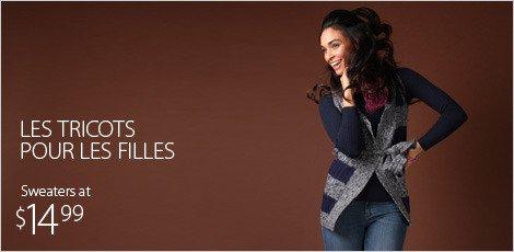 Les tricots pour les filles
