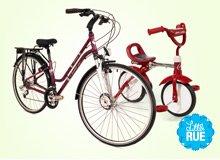 Family Bike Ride: Radio Flyer, KETTLER, & More