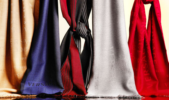Versace Scarves - Visit Event