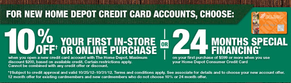 Learn More About Credit at The Home Depot