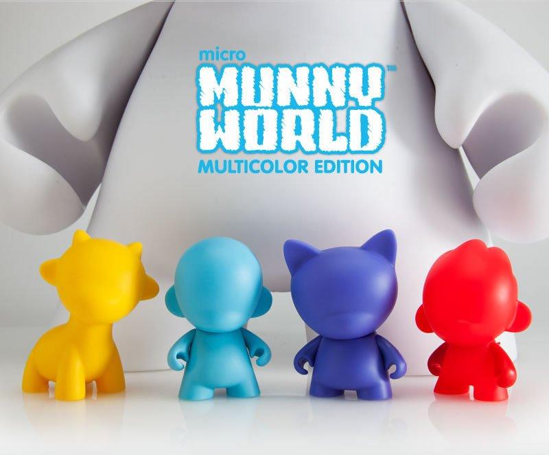 micro MUNNY WORLD multicolor edition