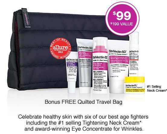 Bonus FREE Quilted Travel Bag