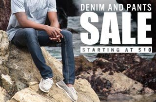 Denim and Pants Sale