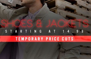 Shoes & Jackets Starting at 14.99