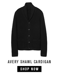 avery shawl cardigan