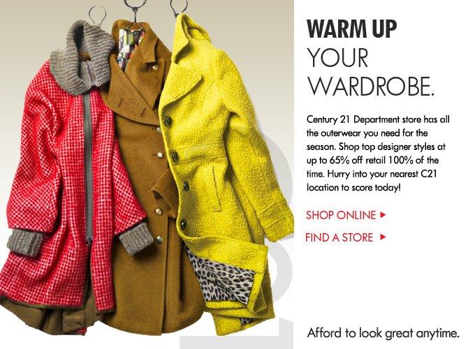 WARM UP Your Wardrobe