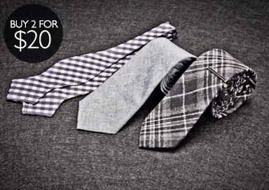 Shop Ties, Bow Ties, & Pocket Squares