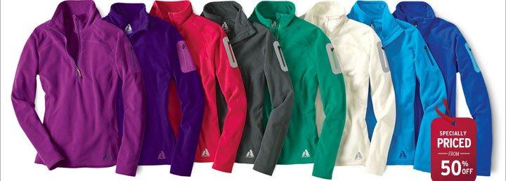 Cloud Layer® Fleece 1/4-Zip