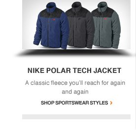 NIKE POLAR TECH JACKET | A classic fleece you'll reach for again and again | Shop Sportswear Styles