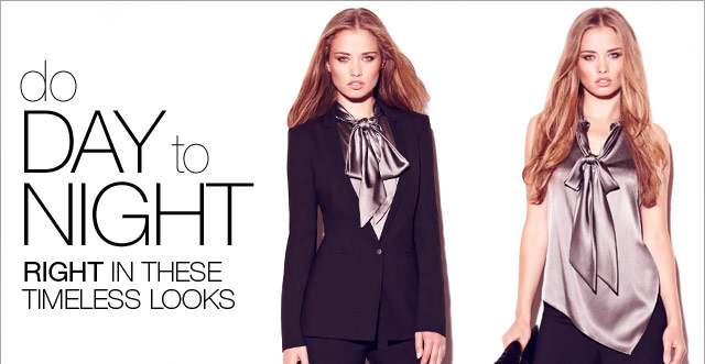 do Day to Night right in these timeless looks