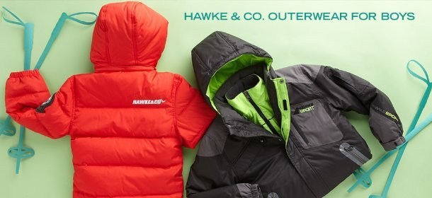 HAWKE & CO. OUTERWEAR FOR BOYS