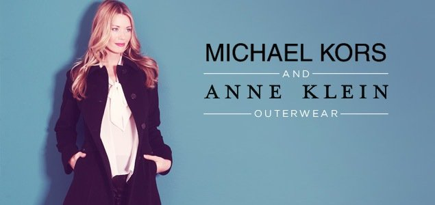 Anne Klein and Michael Kors Outerwear