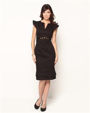 Anna Kevin Ruffled Dress $35