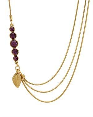 PILGRIM SKANDERBORG, DENMARK Ladies Crystal Necklace $9