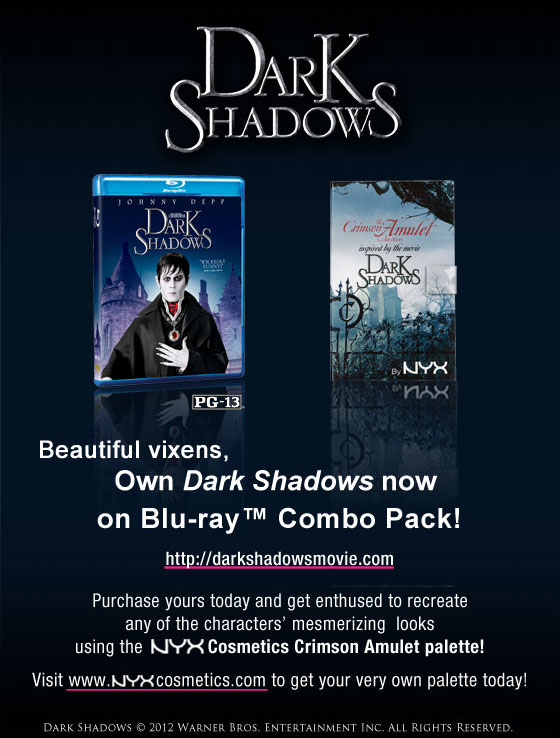 Own Dark Shadows NOW!