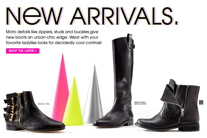 NEW ARRIVALS. SHOP THE LATEST