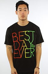 The Best Day Ever Tee in Black