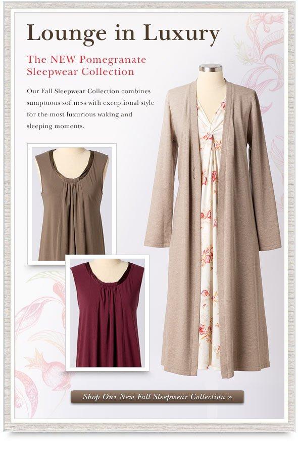 New Sleepwear. Shop Online.