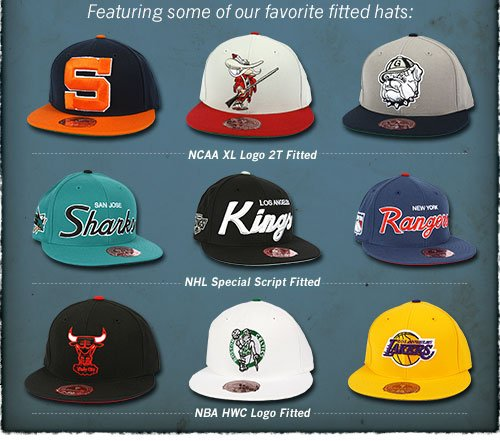 Featuring some of our favorite fitted hats