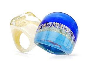 Murano Glass & Venetiaurum Jewelry