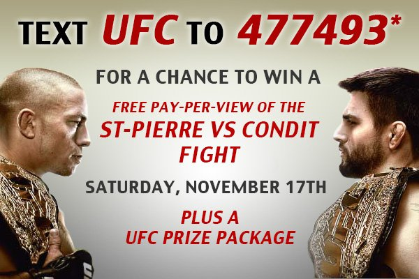LIDS Club Members - Text to win a chance for a FREE pay-per-view