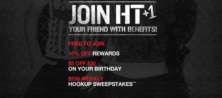 JOIN HT+1 YOUR FRIEND WITH BENEFITS! FREE TO JOIN