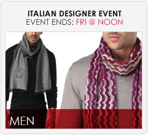 ITALIAN DESIGNER EVENT - MEN'S FURNISHINGS