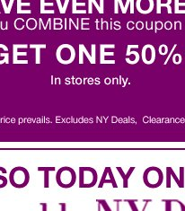 Save even more with our buy 1, get 1 50% off with our $100 coupon.