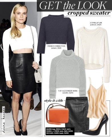 Get The Look: Cropped Sweater