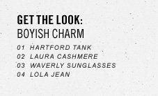 Get The Look: Boyish Charm